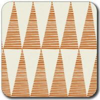 Untersetzer Orange Tall Triangle