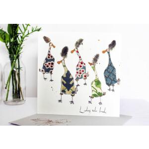 Anna Wright Grußkarte mit Umschlag Ladies Who Lunch...