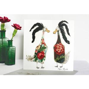 Anna Wright Grußkarte mit Umschlag New Hairdo 15 x 15