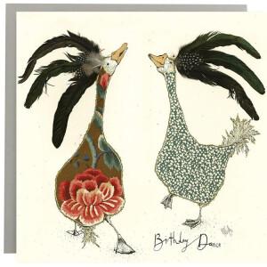 Anna Wright Grußkarte mit Umschlag Birthday Dance...