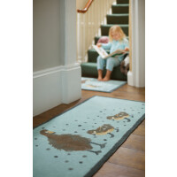 Hug Rug Design Fußmatte lang Enten 65 x 150 cm – Ducks 1