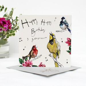 Anna Wright Grußkarte mit Umschlag Birthday...