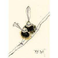 Anna Wright Grußkarte mit Umschlag My Spot 12 x 17