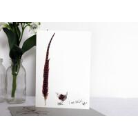 Anna Wright Grußkarte mit Umschlag I Want That One 12 x 17