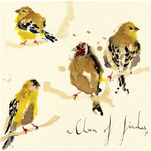 Anna Wright Grußkarte mit Umschlag A Charm of...