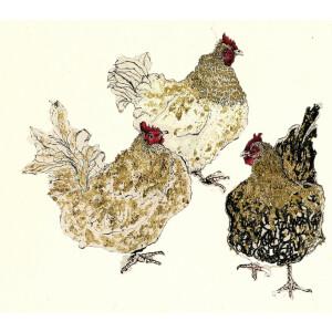 Anna Wright Grußkarte mit Umschlag The Golden...