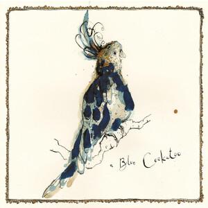 Anna Wright Grußkarte mit Umschlag Blue Cockatoo15...