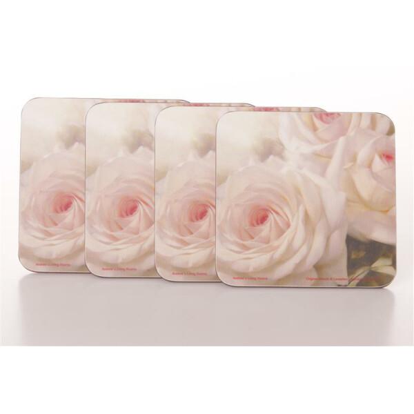 Untersetzer Romantic Rose