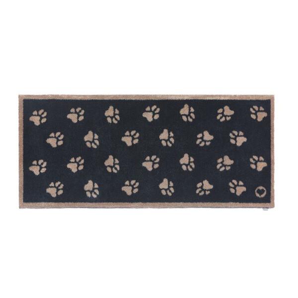Hug Rug Design Fußmatte lang Pfoten grau 65 x 150 cm – PET 10