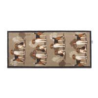 Hug Rug Design Fußmatte lang Jagdhunde 65 x 150 cm – Hounds 1