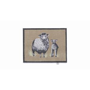Hug Rug Design Fußmatte Schafe 65 x 85 cm - Sheep 1