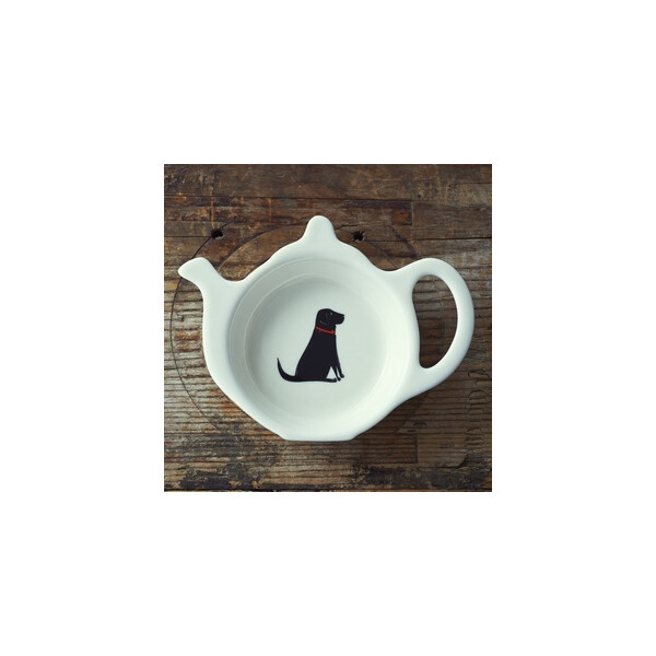 Sweet William Teabag Dish - Black Labrador