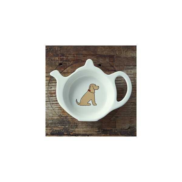 Sweet William Teabag Dish - Cocker Spaniel Golden