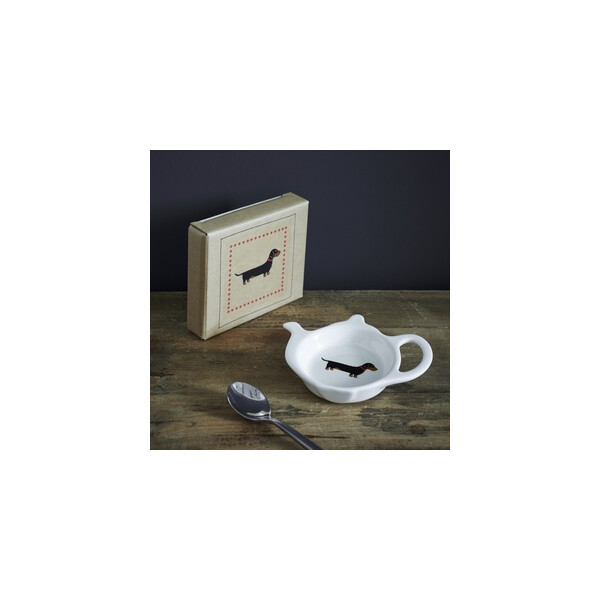 Sweet William Teabag Dish - Dachshund