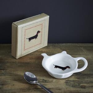 Sweet William Teabag Dish - Dachshund