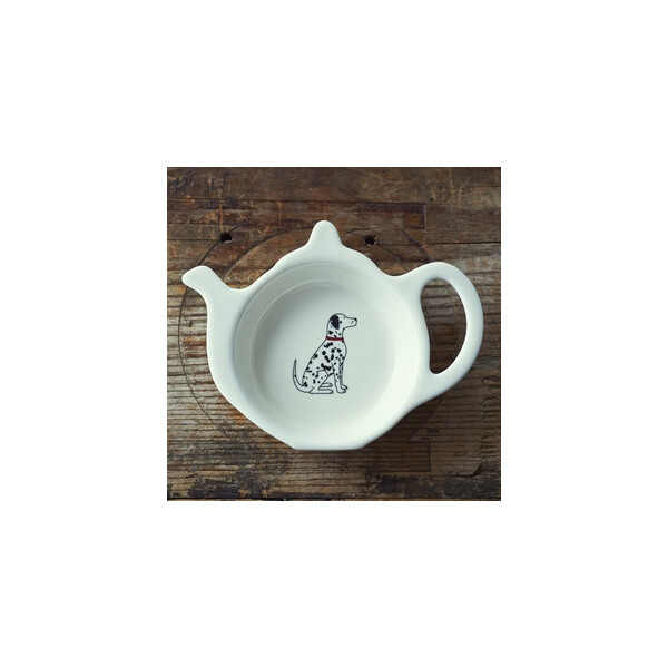 Sweet William Teabag Dish - Dalmatian Dalmatiner