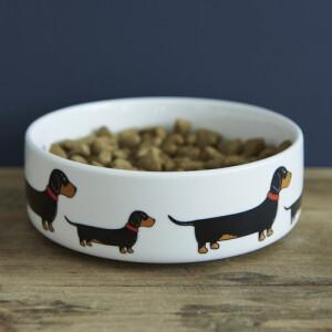 Sweet William Dog Bowl Dachshund  klein