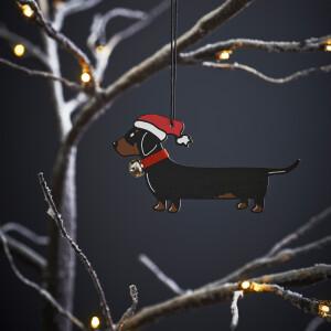 Sweet William Weihnachtsbaumdeko Dackel
