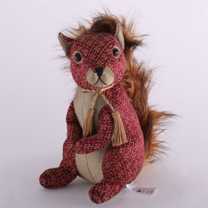 Türstopper Dora Designs Doorstop Ruby Red Squirrel