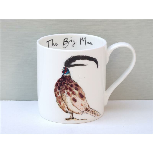 Becher Fine Bone China Anna Wright The Big Man Made in England