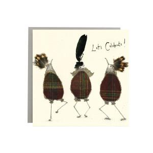 Anna Wright Grußkarte mit Umschlag Lets Celebrate...