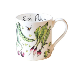 "Kaffeebecher Fine Bone China Anna Wright ""Rich..."