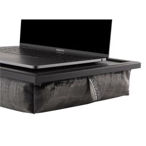 Andrew´s Knietablett Laptray mit Kissen Tablett für Laptop Fox