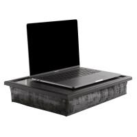Andrew´s Knietablett Laptray mit Kissen Tablett für Laptop Deer