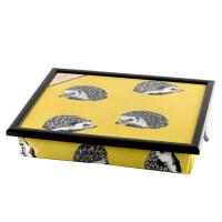 Andrew´s Knietablett Laptray mit Kissen Tablett für Laptop Igel Hedgehog