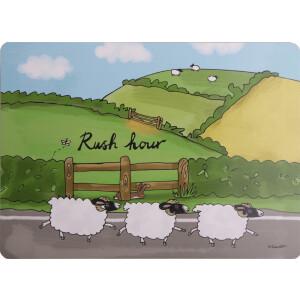 Tischset mit Korkrücken Rush Hour