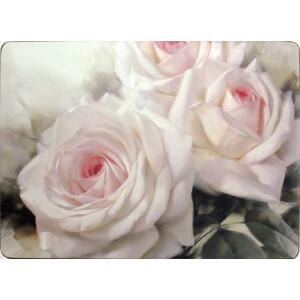 Tischset mit Korkrücken Romantic Rose