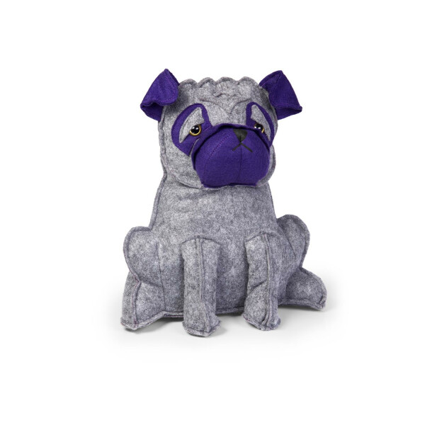 Türstopper Dora Designs Doorstop Purple Pug