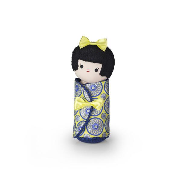 Türstopper Dora Designs Doorstop Black Haired Doll