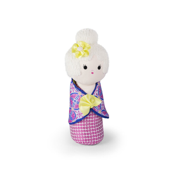 Türstopper Dora Designs Doorstop White Haired Doll