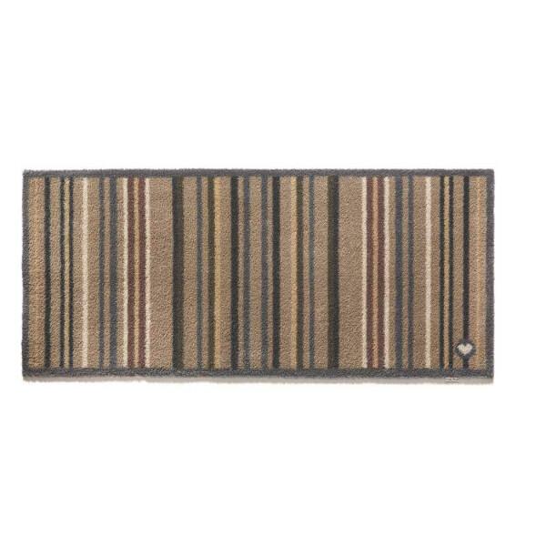 Hug Rug Design Fußmatte lang Streifen 65 x 150 cm – Stripe 26