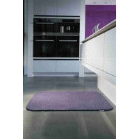 Hug Rug Select Range Mat Fußmatte aus England Uni Plum 80*100