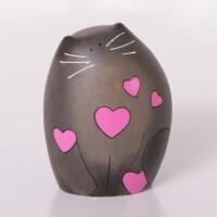 """Love"" 4D Art Skulptur Katze Love, 8,3cm"